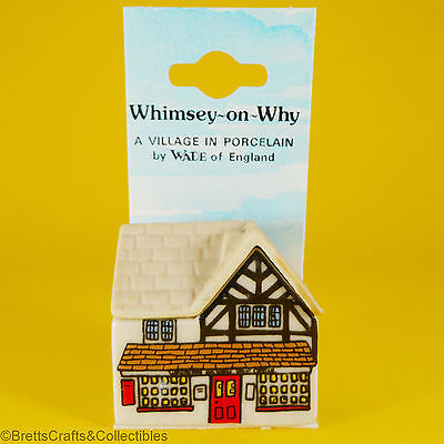 WADE Whimsies - 1980/87 - Whimsey-on-Why - 1981 Set 2 - #12 Post Office on Card