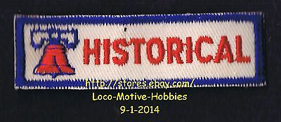 """LMH PATCH Badge  LIBERTY BELL HISTORICAL  Society Assn. Uniform Insignia 3"""""""