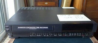 Mitsubishi 24/40 Hour Continuous Time Digital Video Recorder VHS VCR HS-544OUA