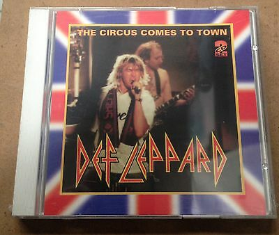 DEF LEPPARD - THE CIRCUS COMES TO TOWN - 2 CD LIVE 1993  NO CDr - - MINT SEALED