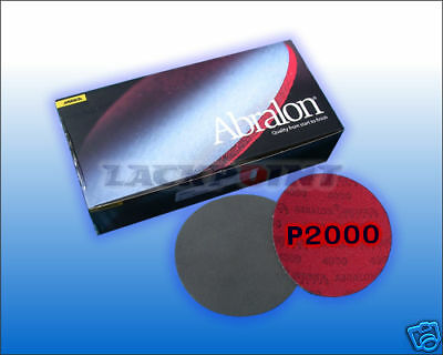 10pz Abralon Disco per lucidare 150mm P2000 GP 1 °=
