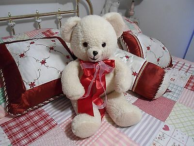 """1986 Vintage Large 23"""" inch Snuggle Bear Lever Brother Company With Bow  :-)"""