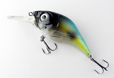 Fishing Lure BASS Rattling 9.8g 75mm 2.75 inch Cranbait Tackle Hook Little Fatty