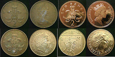 2 2p Pence HIGH GRADE CIRCULATED Choose your item Discounts up to 25%