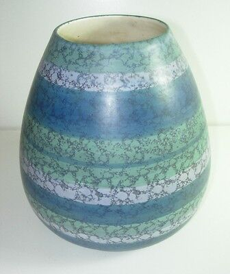 VINTAGE MID CENTURY MODERN MADELINE ORIGINALS CALIFORNIA BLUE GREEN USA POTTERY