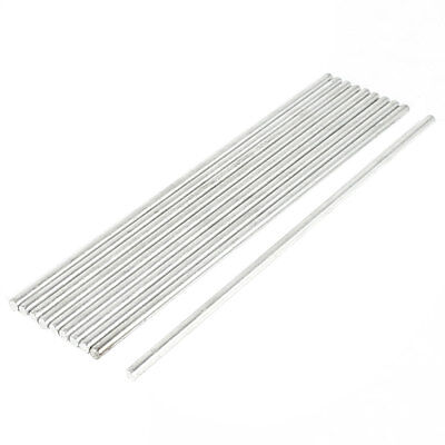 DIY Car RC Helicopter Toy Stainless Steel Round Axles Rod Bar 2.5mmx100mm 10 Pcs