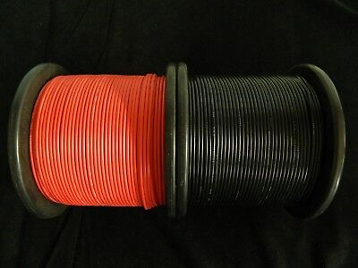 14 Gauge Wire Red & Black 50 Ft Each Primary Awg Stranded Copper Power Remote