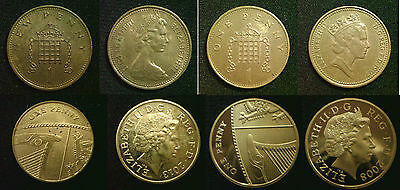 1p 1 Penny HIGH GRADE CIRCULATED. Choose your item Discounts up to 25%