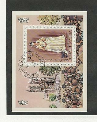 Burkina Faso, Postage Stamp, #438 Used Sheet, 1977