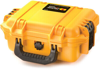 Yellow Pelican  Hardigg Storm IM2050 Case empty NF + FREE engraved nameplate