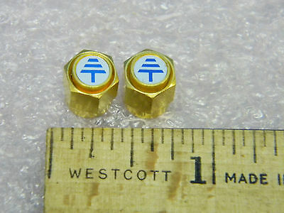 (2) Shuner SMA(m) RF Coaxial Shorts Gold Plated DC-18GHz 50Ω