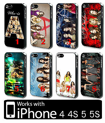 Pretty little liars iPhone 4 4s 5 5s Hard PLASTIC Phone Case Cover Tv Series