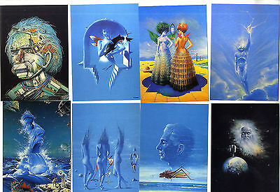 22 Cartes Postales W Siudmak Collection Science Fiction