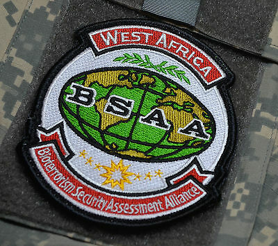 RESIDENT EVIL Bioterrorism Security Assessment Alliance BSAA West Africa SSI