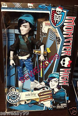 Monster High Scare Mester Invisi Billy Son of Invisible Man