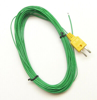 Extra Long 49ft 15m K-Type Thermocouple Wire for Digital Thermometer Temperature