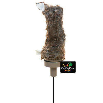 New Lucky Duck Edge By Expidite Quiver Critter Predator Fox Coyote Motion Decoy