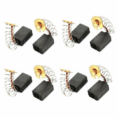 8 Pcs Electric Drill Motor Carbon Brushes 12mm x 9mm x 6mm