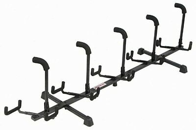 Stageline GS5R Tubular Black 5-Guitar Multi Electric or Acoustic Rack Stand