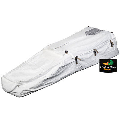 Rig'em Right Waterfowl Low Rider Ii Layout Blind Snow Cover White