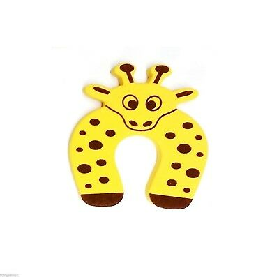 Door Stopper Yellow Giraffe Finger Protect Safe Guard Baby Child Kids Pets