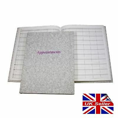 Appointment Book Diary Hairdresser Beautician Therapist Stylist 6 Column