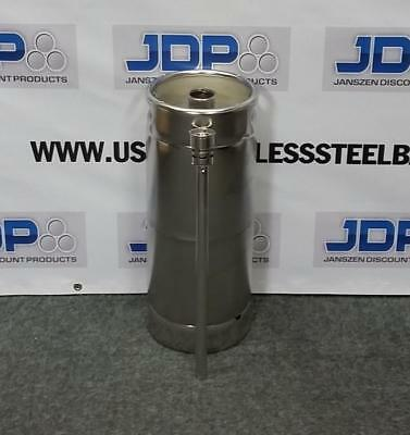 Stainless Steel Keg NEW (1/6) with Spear  Beer keg