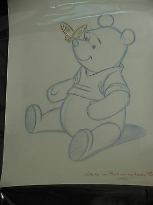 rare genuine disney collectable art print picture winnie the pooh 50 x 70 NEW