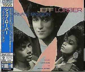 Jeff Lorber - Private Passion - 2014 (NEW CD)