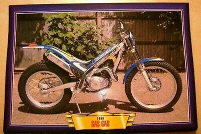 Gas Gas Txt321 Txt 321 Trials Classic Motorcycle Bike 1990's Print Picture