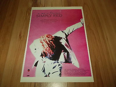 Simply red-1989 magazine advert