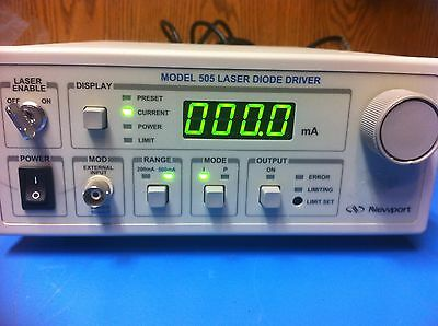NEWPORT 505 Laser Diode Driver