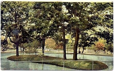 PC:  View Of Leeper Park, South Bend, Ind (PM 1910)