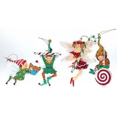 Mark Roberts Mary Engelbreit Collection Set of Four Fairies Ornaments 25-48834