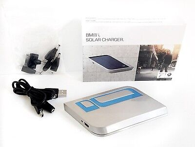 BMW i Series Solar Charger Iphone Samsung Blackberry Phone Adapter Gift