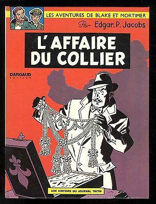 Blake Et Mortimer    L'affaire Du Collier   Ep Jacobs   1968