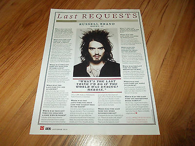Russell Brand-2010 magazine article