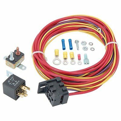 JEGS 10564 Single Fuel Pump Harness and Relay Kit