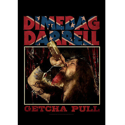 """DIMEBAG DARRELL """"GETCHA PULL""""  Fabric Poster Oversized 30""""X40"""" Poster Flag NEW"""