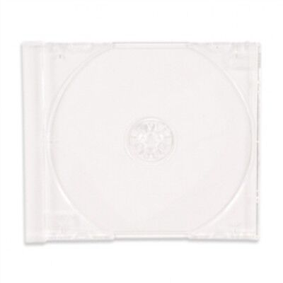 50 STANDARD Clear CD Jewel Case (Tray Only, NO Cartons)