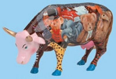 Cow Parade London BABE IN TOYLAND COW FIGURINE #7317 New in Box, Retired