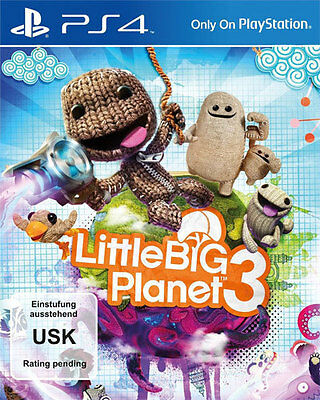 Sony PS4 Playstation 4 Spiel ***** Little Big Planet 3 ******************NEU*NEW