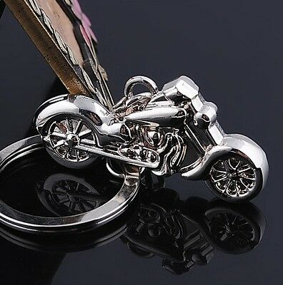 New Cute Fashion Model Motorcycle Keyring Motor Key Chain Great Gift Keyfob Cool