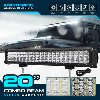 12inch 360W PHILIPS Spot Flood Combo LED Work Light Bar ATV SUV Offroad Lamp