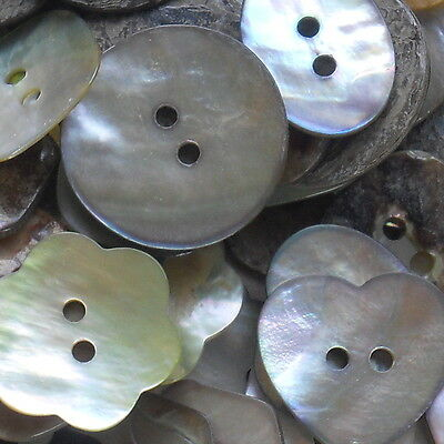 Best Quality Mother Of Pearl Buttons -Choose Your Shape X 10 Buttons ***