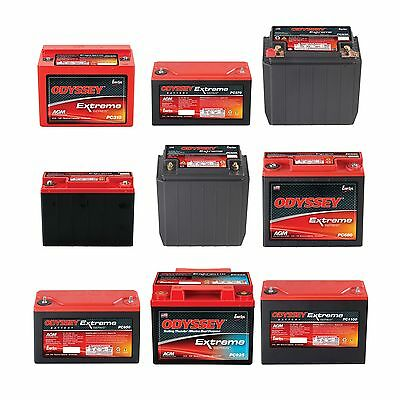Odyssey Extreme Racing Series Dry Cell Battery - Race/Racing/Oval/Rally/Motorspo