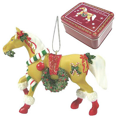 Trail of Painted Ponies CHRISTMAS PARADE PONY ORNAMENT Retired, New in Box!