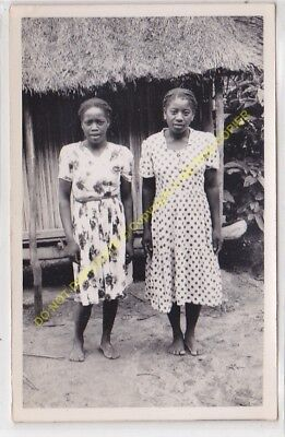 RPPC carte photo MADAGASCAR Deux femmes malgaches n20