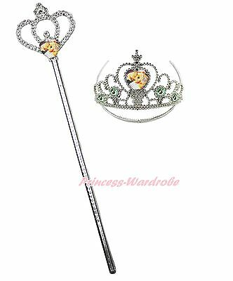 Tinkerbell Fairy Magic Wand & Crown Tiara Kids Girl Party Accessory Costume