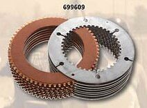 Clutch Pack Plates Rivera Primo Brute 3 Belt Drive Harley Softail Fxst Fxstc